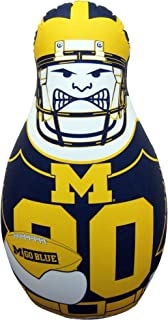 Fremont Die NCAA Tackle Buddy Inflatable Punching Bag, 40-Inch Tall