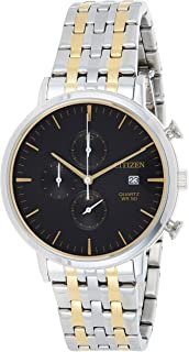 Citizen Mens Quartz Watch, Chronograph Display and Stainless Steel Strap - AN3614-54E