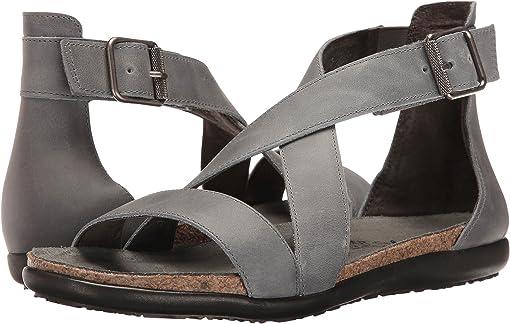 Vintage Slate Leather