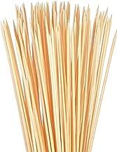 Bambu Stix Marshmallow Roasting Sticks - 36 Inch 5mm Thick Heavy Duty - Extra Long Bamboo Sticks - Smores Sticks - Bonfire Skewers - Bamboo Skewer - 100% Compostable (40 Piece)