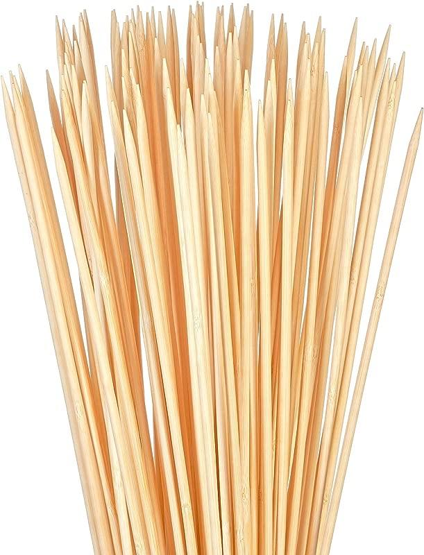 Bambu Stix Marshmallow Roasting Sticks 36 Inch 5mm Thick Heavy Duty Extra Long Bamboo Sticks Smores Sticks Bonfire Skewers Bamboo Skewer 100 Compostable 40 Piece