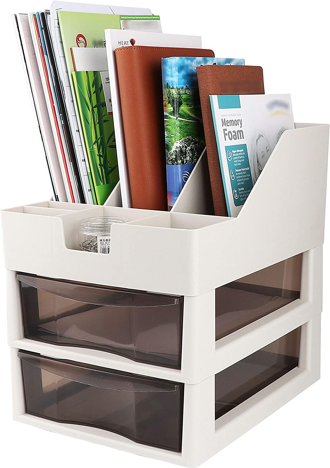 Desk and File Organizer with Two Light Holder Pen Discount is also Many popular brands underway Drawers G