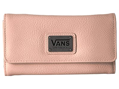 Vans Chained Reaction Wallet (Spanish Villa/Satin Floral) Wallet Handbags