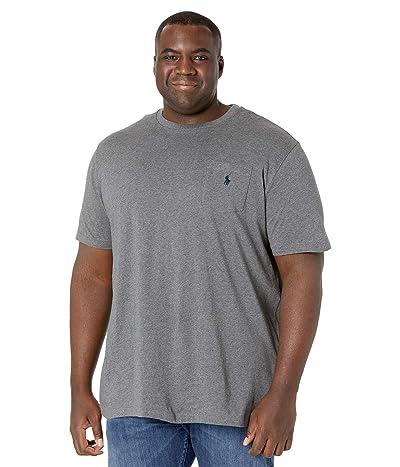 Polo Ralph Lauren Big & Tall Big Tall 26/1 Jersey Short Sleeve Classic Fit T-Shirt (Fortress Grey Heather) Men