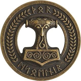 Spirit of Isis B242 Buckle G/ürtelschnalle Mj/ölnir Thorshammer