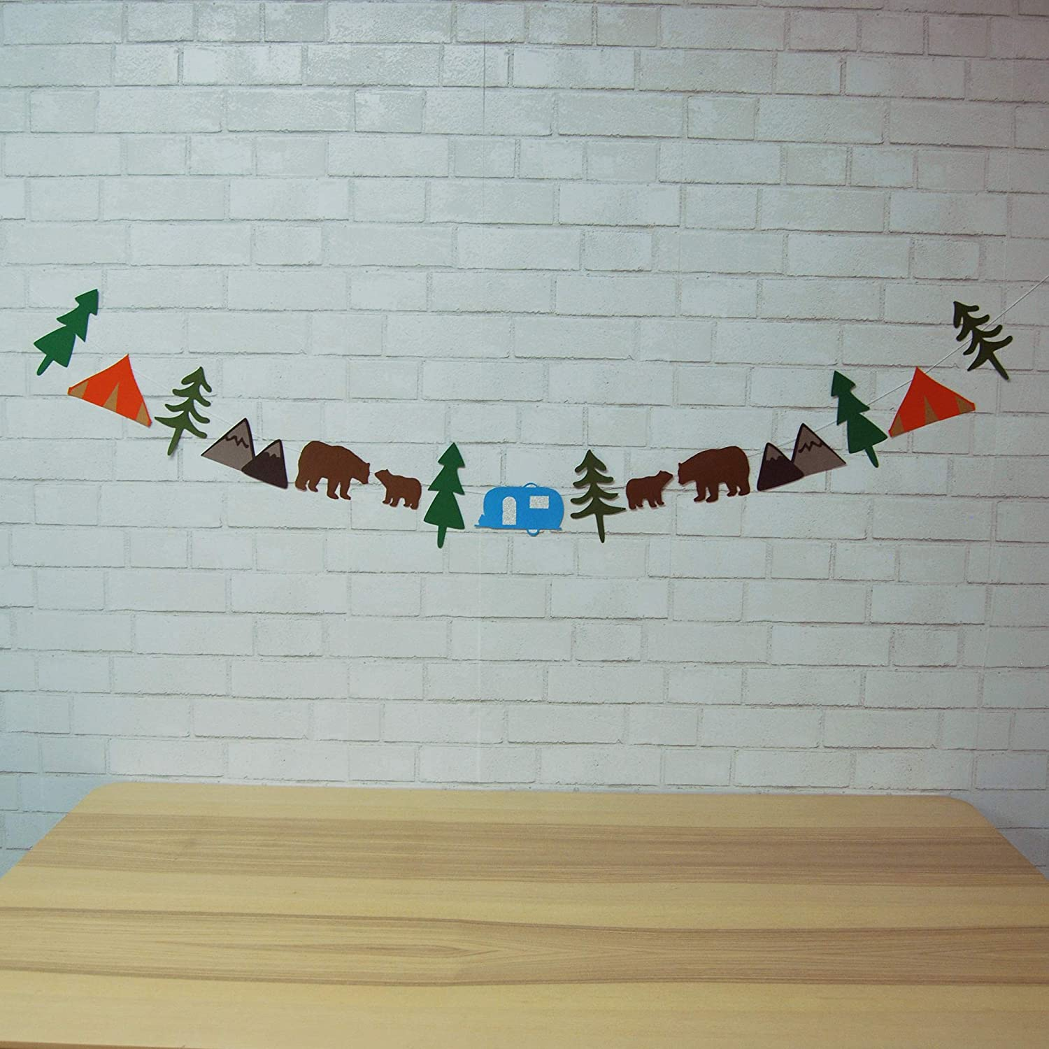 Large-scale All items in the store sale Camping Garland