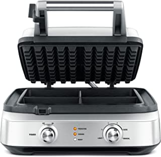 Breville BWM604BSS Smart Waffle Maker, Brushed Stainless Steel