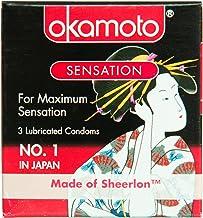 Okamoto Sensation Condoms, 3 ct