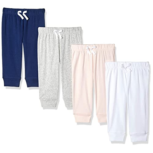 Essentials Baby Boys 4-Pack Pull-on Pant