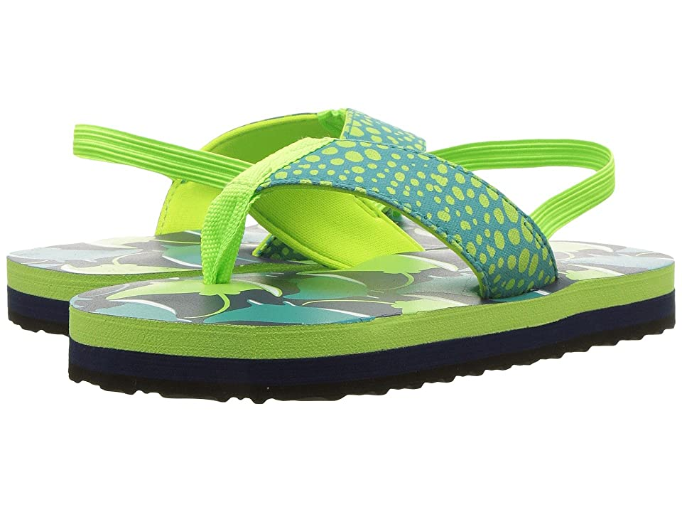 Hatley Kids Limited Edition Flip Flops (Toddler/Little Kid) (Friendly Manta Rays) Boys Shoes