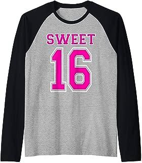 Best sweet 16 baseball jersey Reviews