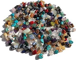 Piedras preciosas perlas perlas de forma natural 100 g piedra perlas 15 mm hasta 5 mm perlas de cuarzo cadena schmuckbaste...