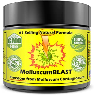 Molluscum Contagiosum Treatment Cream Kids Adults (15 Essential Oils & FDA Approved BHT) Vanishing Stick Natural Contagium Quickly Control Stop #1Selling LARGE 2oz 60ml 100% NATURAL FAST RELIEF