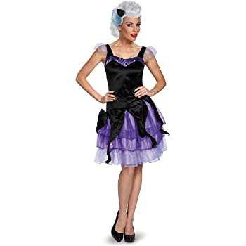 Disguise Womens Ursula Deluxe Adult, Black/Purple, Small: Amazon ...