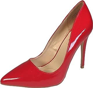 Anne Michelle Women's Plain Pointy-Toe Dress Heel Pump