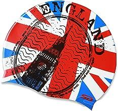 Best british flag swim cap Reviews
