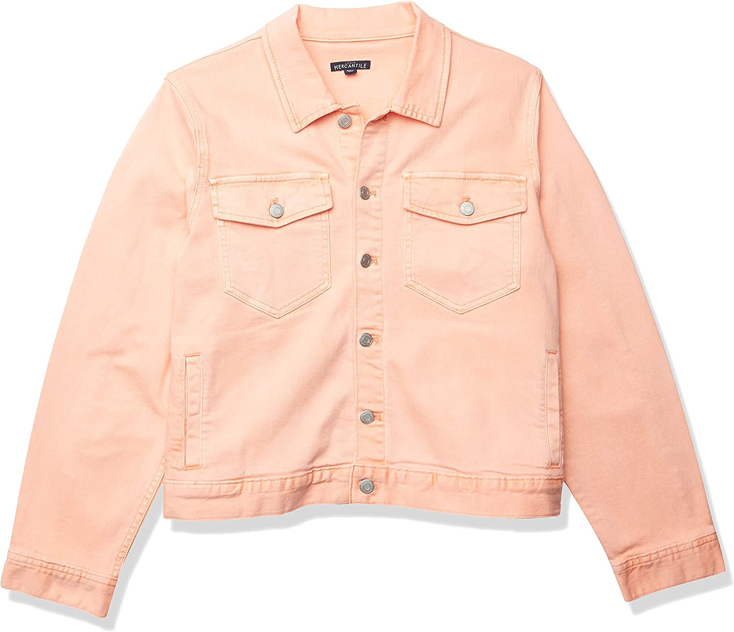 J.Crew Mercantile Special price womens Cropped Garment-dyed Jacket Denim 5 popular