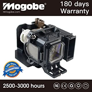 for VT85LP Replacement Lamp with Housing for NEC VT480 VT490 VT491 VT495 VT580 VT590 VT595 VT695 by Mogobe