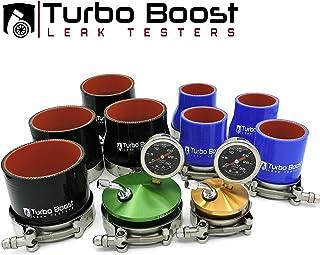 "Turbo Boost Leak Testers - Shop Kit - Universal Intake Charge Pipe Pressure Test 2"" 2.25"" 2.5"" 2.75"" 3"" 3.25"" 3.5"" 4"""