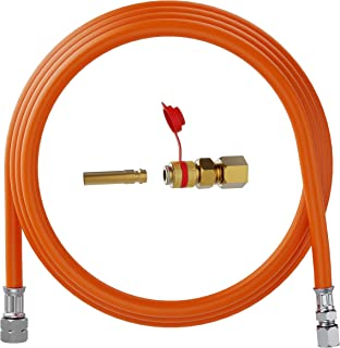 YOURGRILL Gasschlauch mit Schnellkupplung, Größe: 300 cm mit Schnellkupplung entspricht 13,33€/m