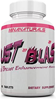 Bust Blast (New Formula) Female Breast Enhancement Pills - Natural Bust Enlargement - Increase & Firm. Help Add Extra Cup Sizes. 2550Mg Formula (The Most Dense & Complete).