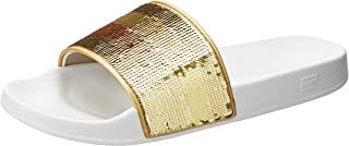 TOMMY HILFIGER Women's Signature Sequinned Strap Pool