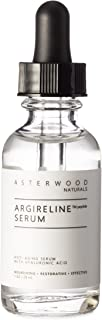 ARGIRELINE Peptide 1 oz Serum with Organic Hyaluronic Acid, Anti Wrinkle, Anti Aging, Genuine Lipotec Argireline, Skin Relaxer ASTERWOOD NATURALS Glass Bottle