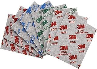 3M スポンジ 研磨材 サンドペーパー 02600 02601 02602 02604 8枚セット 114㎜×139㎜ (8 pcs(MIX))