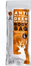 Koola Buck Pest Repelling Heavy-Duty Reusable Hunting Game/Meat Bags - Choice of 4-Pack Quarter Bags L, XL, XXL & 1-Pack F...