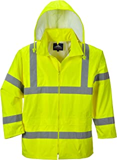 Portwest Waterproof Rain Jacket, Lightweight
