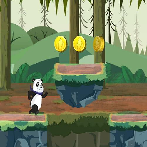 Panda Rennen 2d Spaß Laufspiele für Kinder