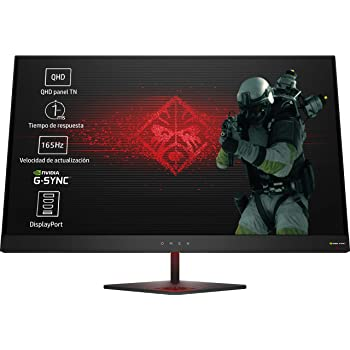 HP Monitor Gaming TN, Micro-Edge, Tecnología AMD FreeSync Negro ...