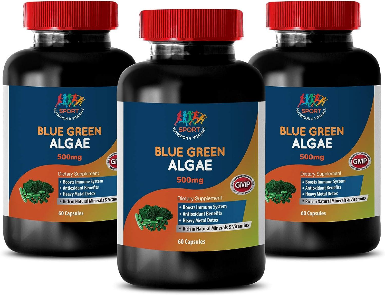 antioxidant Supplement trend rank Organic - Algae Green Outstanding Blue 500mg