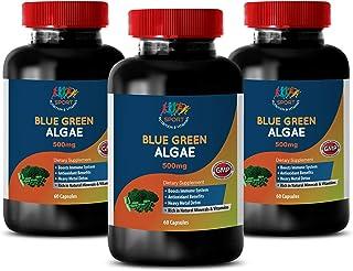 antioxidant Supplement for Women - Organic Blue Green Algae 500mg - spirulina and chlorella Powder Organic - 3 Bottles 180...