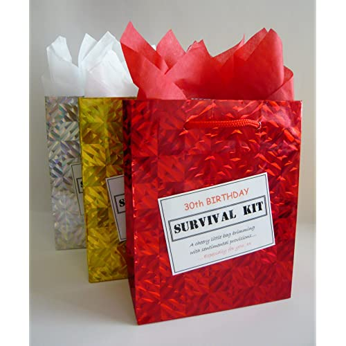 30th Birthday Survival Kit For Male Fun Gift Idea Novelty Present