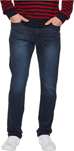 Slim Fit Stretch in Smokey Blue Wash