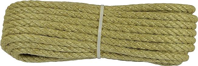 Corderie Italiane 006043911 jute touw, 10 mm, 10 m, natuur