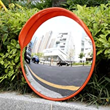 Convex Road Mirror for Road Safety Wide Angle Premium Convex Traffic Mirror Convex Mirror Parabolic Mirror for Indoor Garage Wide Angle Lens 30cm