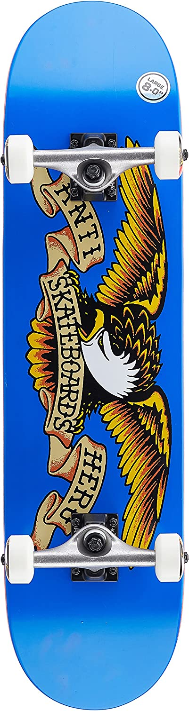 Anti Hero Skateboard Komplett Classic Eagle Lg - 8 inch Blau-Gelb (One Größe, Blau) B07DXM2LZZ  Meistverkaufte weltweit