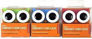 Kikkerland, Contact Lens Case Owl, 1 Count