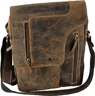 Greenburry Vintage bolso bandolera piel 17 cm brown