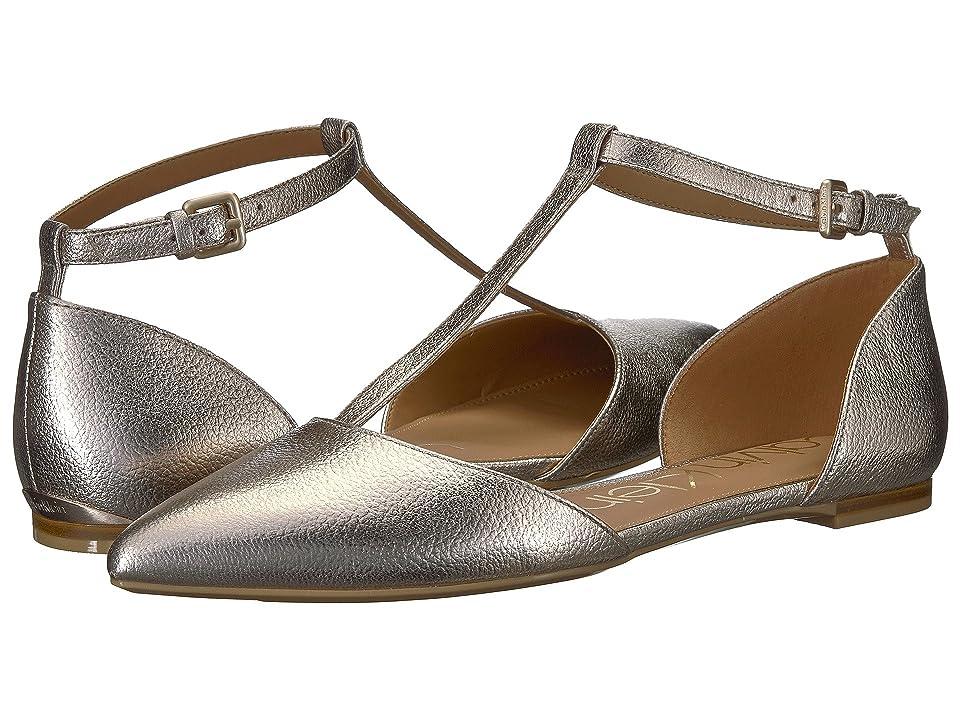 Calvin Klein Ghita Flat (Soft Platinum) Women
