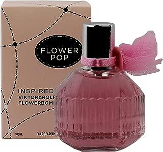 Watermark Beauty Flower Pop Women's Perfume - 3.3 Fl Oz/100Milliter Inspired by Flower Bomb Perfume for Women Light Floral Tones