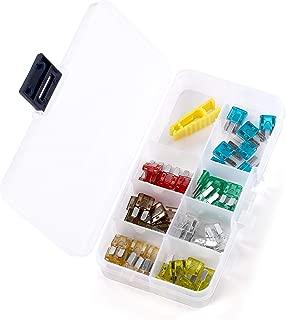 60 Stücke Jcase Sicherung Sortiment Box Shaped 20A 25A 30A 40A 50A 60A