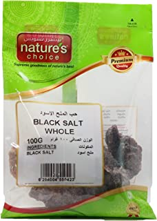 Natures Choice Black Salt Whole, 100 gm