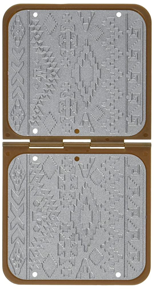 Sizzix DecoEmboss Die Navajo Textile by Vintaj