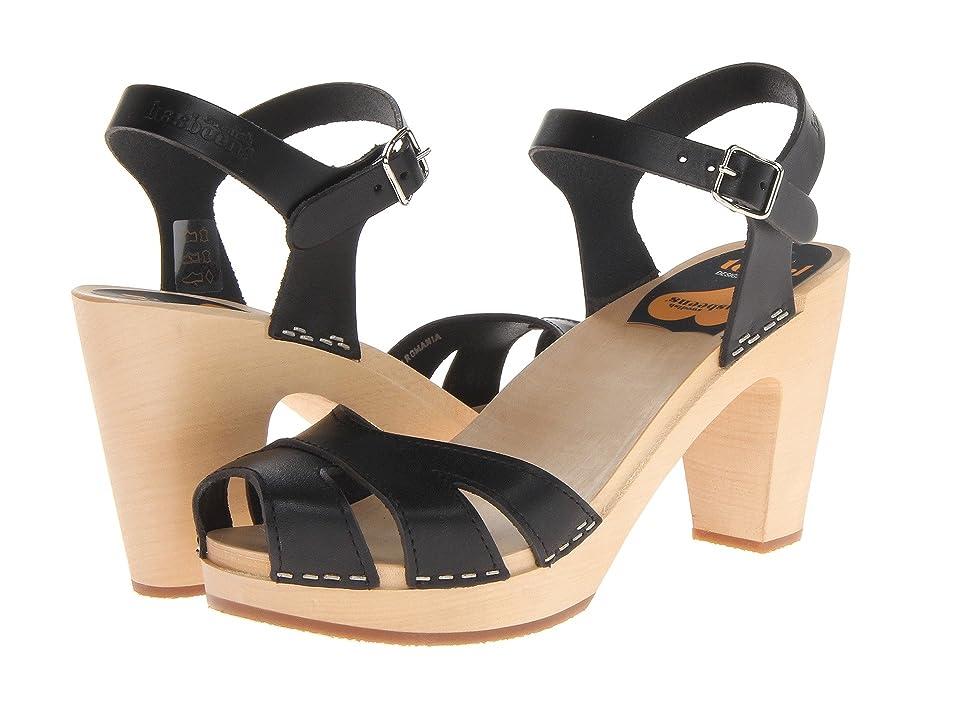 Swedish Hasbeens Suzanne (Black) High Heels