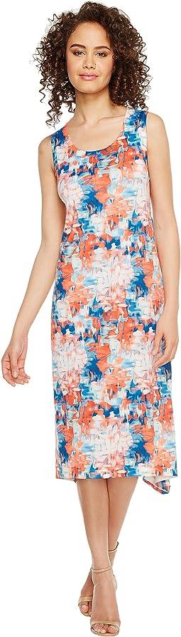 Floral Blast Printed Dress