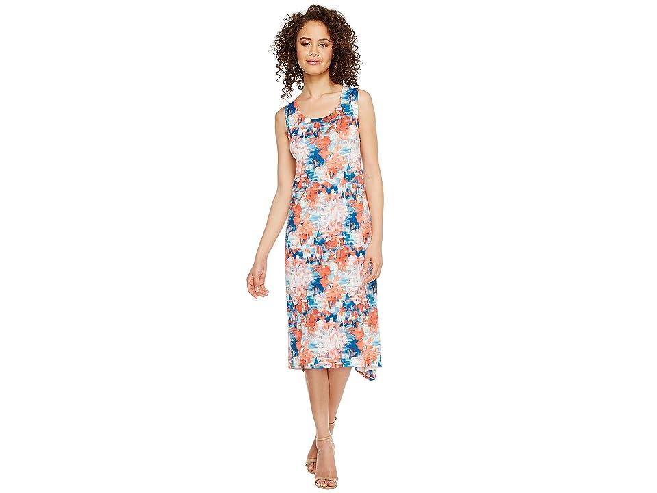 Nally & Millie Floral Blast Printed Dress (Multi) Women