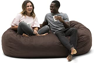 Big Joe Media Lounger, 72x42x42, Cocoa